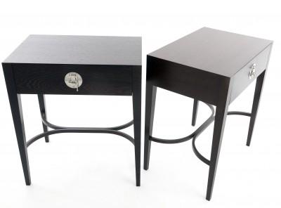 Wenge side tables