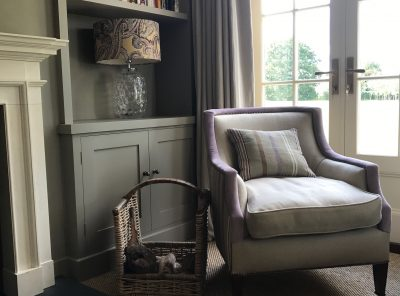 Sitting room bookcase
