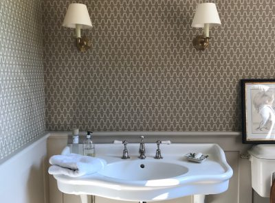 Cloakroom panelling