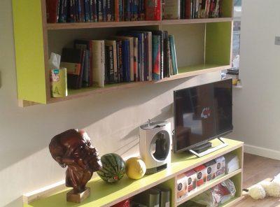 Kitchen shelf units